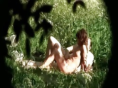 69 and sex in a field with voyeur couple tubes