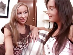 Kissing teen girls in lesbian foreplay porn tubes