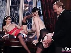 Classy ladies fucked in gorgeous orgy porn tubes