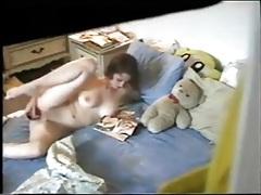 Watching girl masturbate through her window tubes