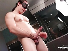 Big cock guy fucks a sex toy deep tubes