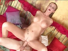 Leggy milf with beautiful big tits fucked tubes