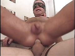 Gay amateurs in masks have hot anal sex tubes
