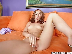 Skinny redheaded beauty gives pov blowjob tubes