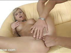 Milf beauty swallows a thick dick lustily tubes