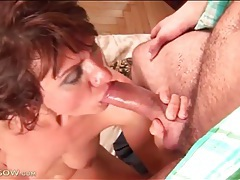 Deep doggystyle fucking of a lusty mom tubes