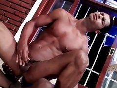 Sexy latin gay bottom ass fucked by black cock tubes