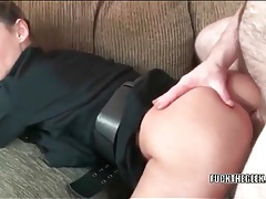 Hairy guy fucks a beautiful girl doggystyle tubes