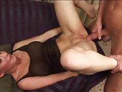 Teen in sheer lingerie fucked in erotic video tubes