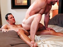 Ass licking hottie on the bottom of a 69 tubes