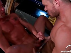 Fierce anal fucking with hard body guys tubes