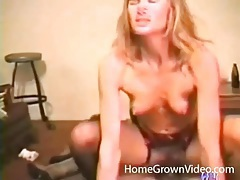 Sexy chick in a 69 climbs on his dick and rides tubes