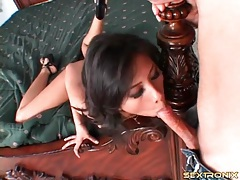 Soaking wet asian snatch fucked by white dick tubes