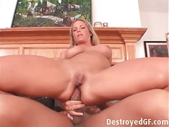 Creamy cunt and ass of a blonde milf fucked tubes