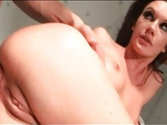 Fat cocks fuck a skinny chick with little tits tubes