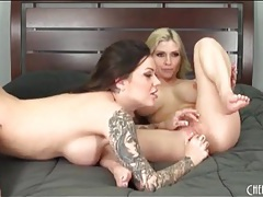 Sexy christie stevens strapon fucks a hot chick tubes