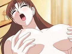 Perfect big tits on hentai threesome girls tubes