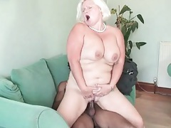 Fit young black guy fucks bleach blonde mature tubes