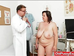 Mature tits tied up by the dirty doctor tubes
