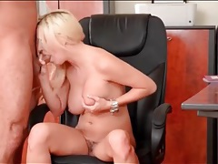 Cocksucker tastes his cum in a bj video tubes