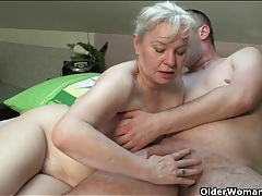 Mother in law wants his cock in her old cunt tubes