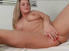 Curvy milf bethany taylor in a striptease tubes