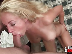 Throat fucked lady with big titties gags on it tubes