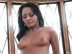 Hot brunette is a goddess of anal sex tubes
