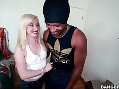 Sweet bleach blonde kira lake sucks bbc tubes