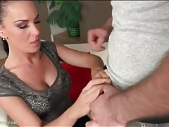 Tight body milf sucks dick with great passion tubes