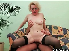 Boots and stockings mommy laid in a lusty video tubes