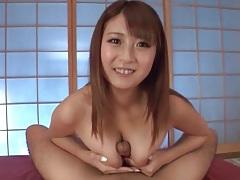 Jiggly boobies give a sexy pov titjob tubes