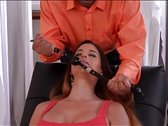 Cathy heaven submits to her sex therapist tubes