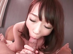 Wet and sensual pov blowjob from a japanese girl tubes