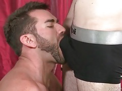 Bearded teacher makes out with his sexy twink student tubes