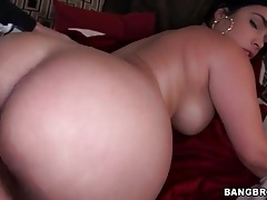 Tight latina pussy lips grip his cock in a doggystyle video tubes