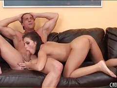 Eating out a hot hole and fucking it with passion tubes