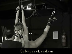 Slave flogged and fucked by her master tubes
