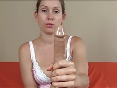 Cute lelu love talks you through a sexy handjob tubes