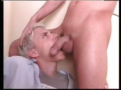 Top tongues an asshole with lust before fucking it tubes