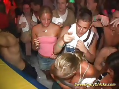 Wet college teen party tubes