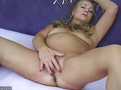 Sexy old granny, granny masturbate, mature play with herself tubes