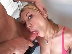 Ass fucked schoolgirl slut bends over for him tubes