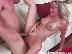 Cocksucker needs a dick in her soaked vagina tubes