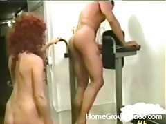 He fucks a kinky hottie from behind and cums tubes