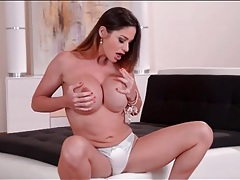 Cathy heaven only needs panties to turn you on tubes