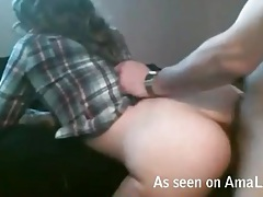 Rough doggystyle sex with his hot girlfriend tubes