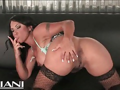 Lingerie is breathtaking on this voluptuous latina tubes