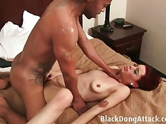 Redhead discovers the joys of bbc sex tubes