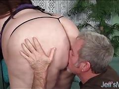 He gets his knob gobbled by a super fat slut tubes